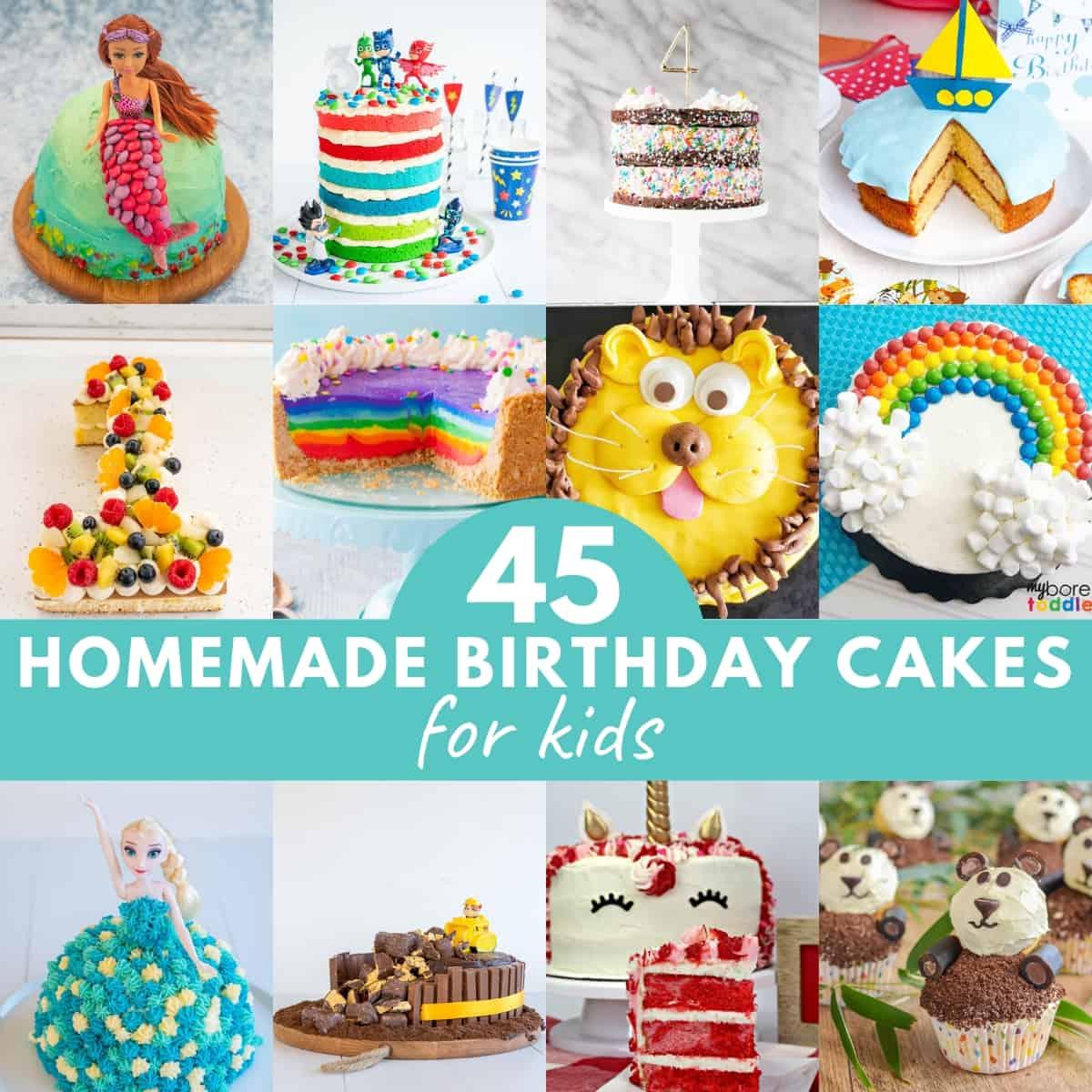 Cake Decoration For Children's Birthday  from mykidslickthebowl.com